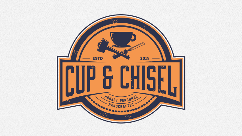 Cup & Chisel logo