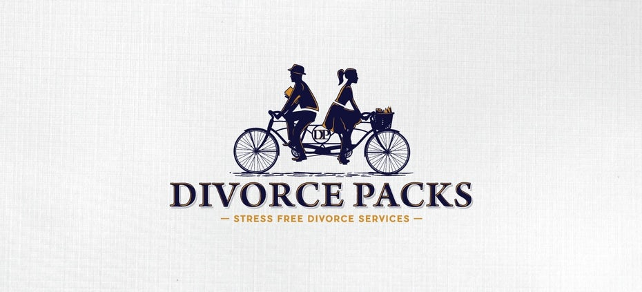 Divorce lawyer logo