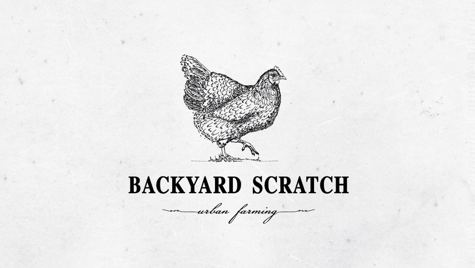 Backyard Scratch Urban Farming logo