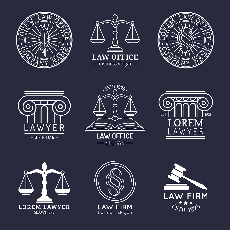 generic lawyer logo examples
