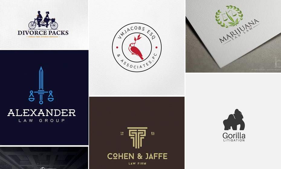 31 law firm logos that raise the bar - 99designs