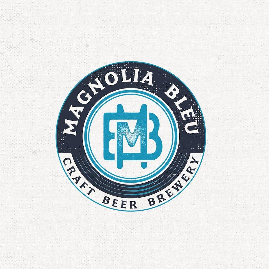 Magnolia Bleu logo