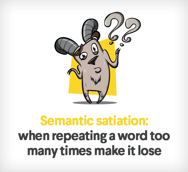 semantic satiation definition