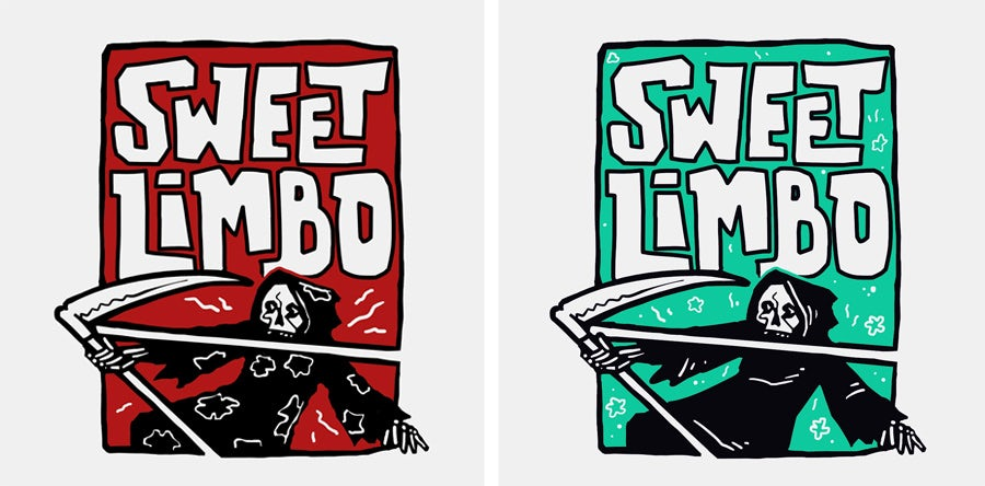 sweet limbo logo design