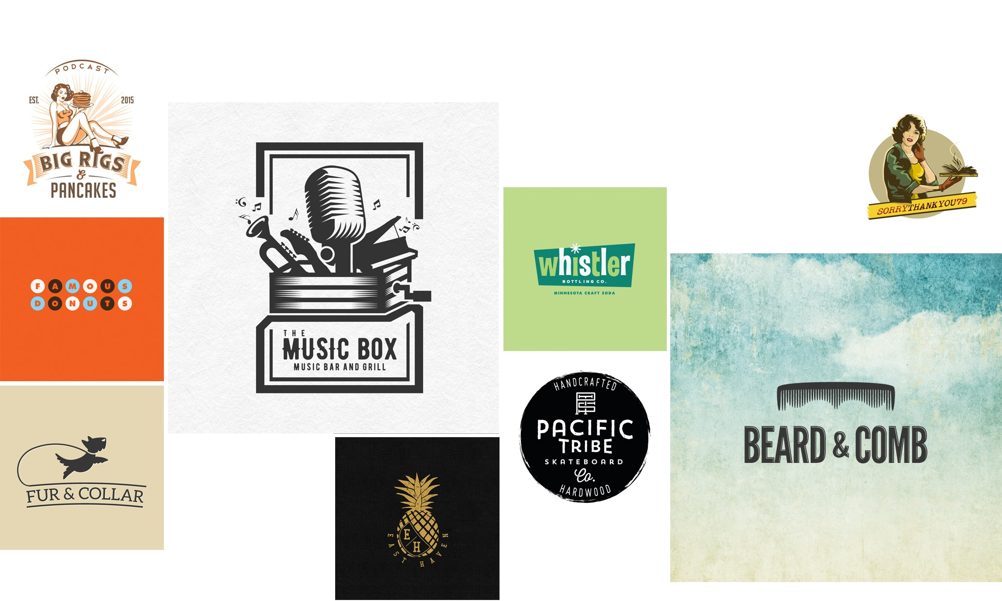 23 of the coolest vintage and retro logos 99designs rh 99designs com
