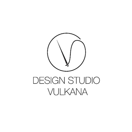 Logo Design for the Fashion Brand Design Studio Vulkana