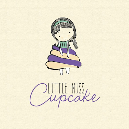 Logo Design for the Fashion Brand Little Miss Cupcake