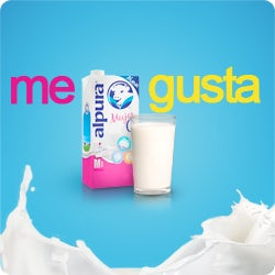 banner ad for milk brand