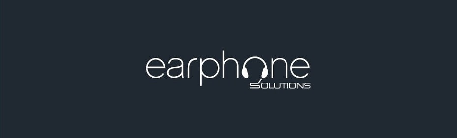great logos example: wordmark with headphone shaped letter o