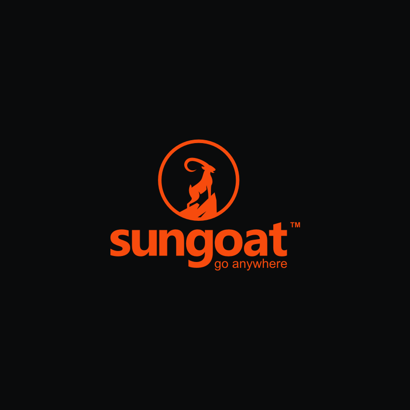 best logo example: simple modern goat logo