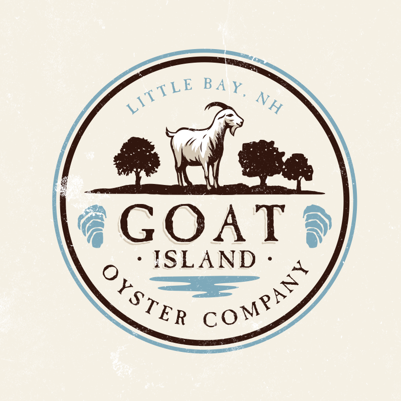 best logo design with traditional goat emblem