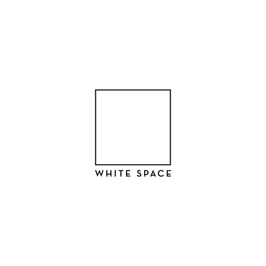 best logo design with minimal white square