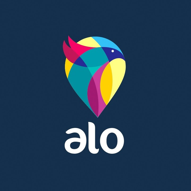 best logo design with abstract bird