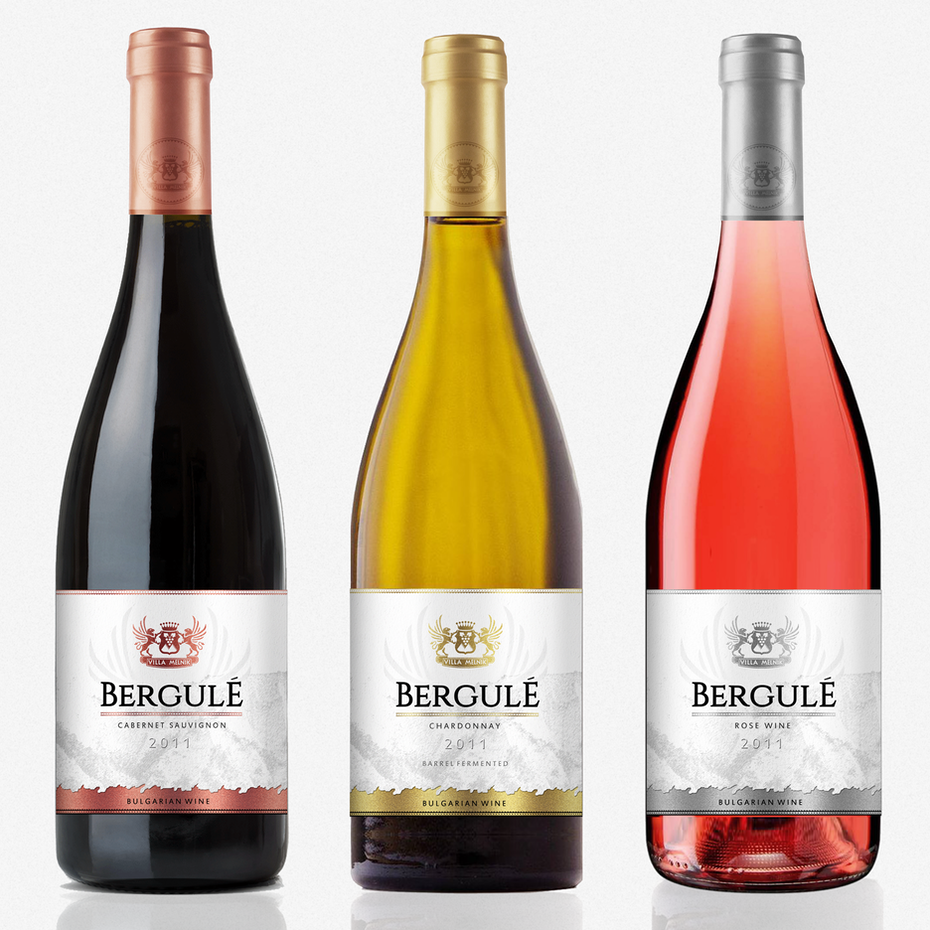 Bergule Wine Label