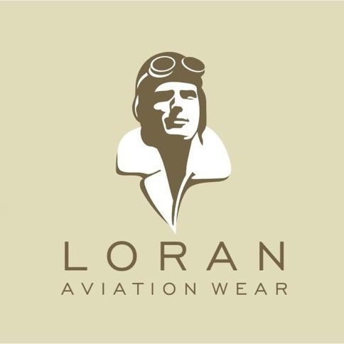 example for best logos: inspirational aviator illustration logo