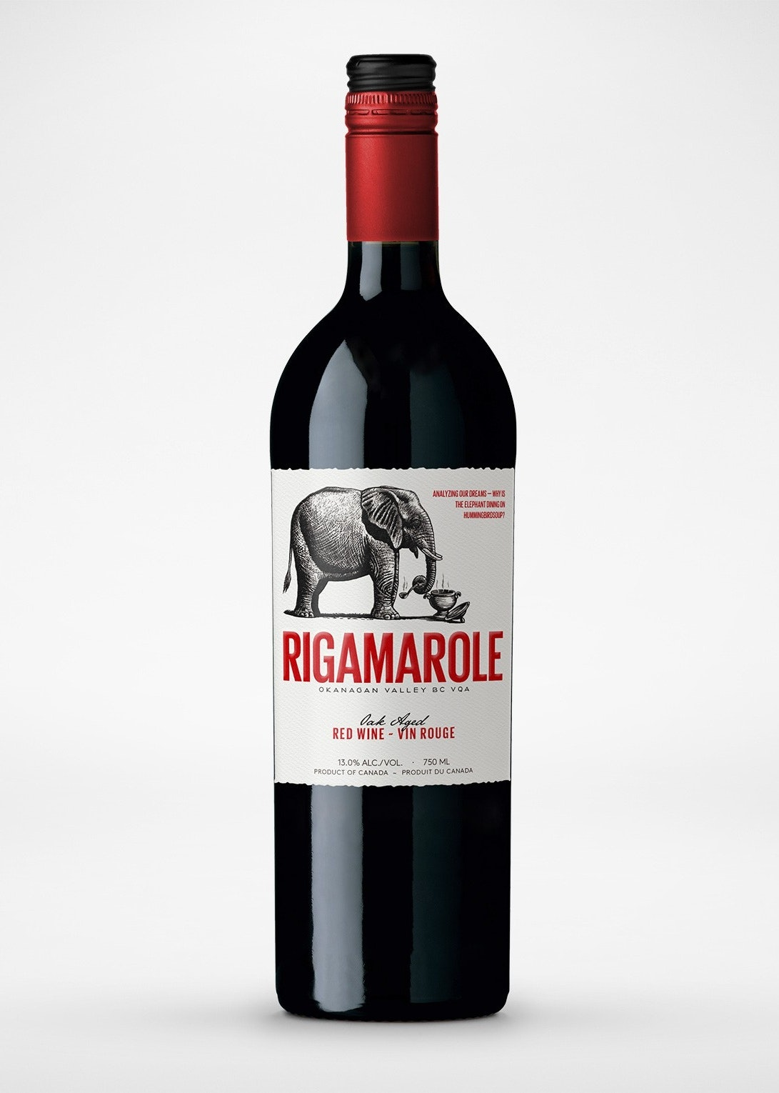 Rigamarole Wine Label