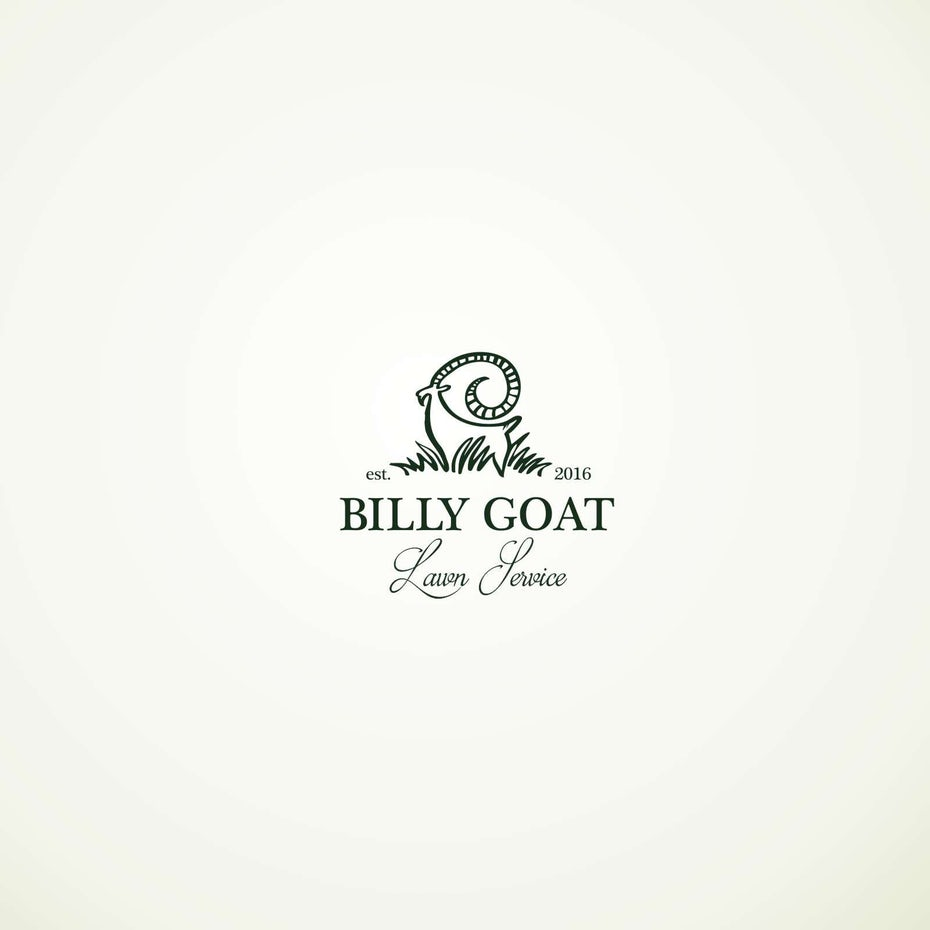 best logos example with goat
