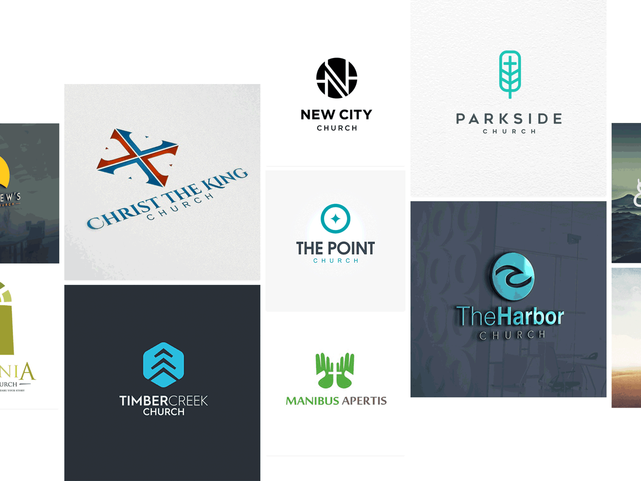 44 church logos to inspire your flock - 99designs
