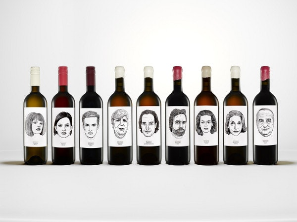 Gut Oggau Wine Labels