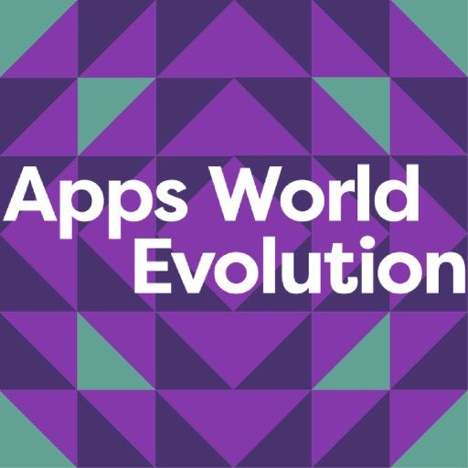 Apps World Evolution Logo