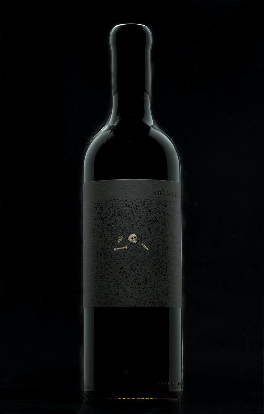 Subterra Wine Label