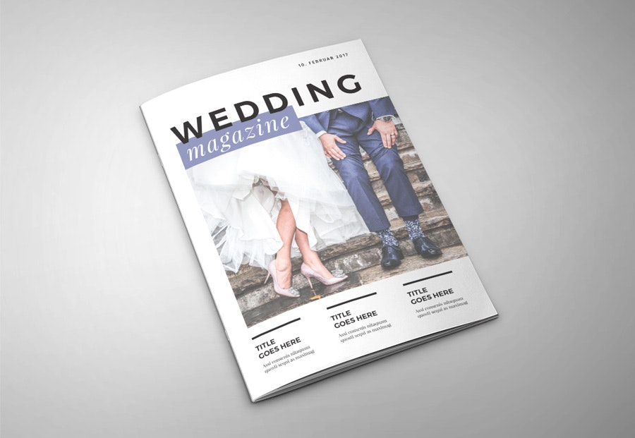 magazine layout design