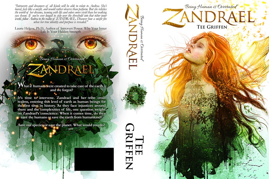 fantasy book cover design