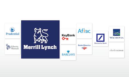63 Bank- und Finanzlogos, die ihr Geld wert sind
