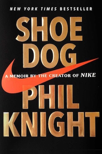 One of our recommended books for entrepreneurs: Shoe dog