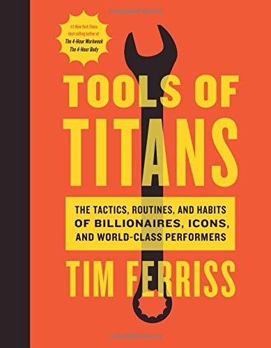 One of our recommended books for entrepreneurs: Tools of titans