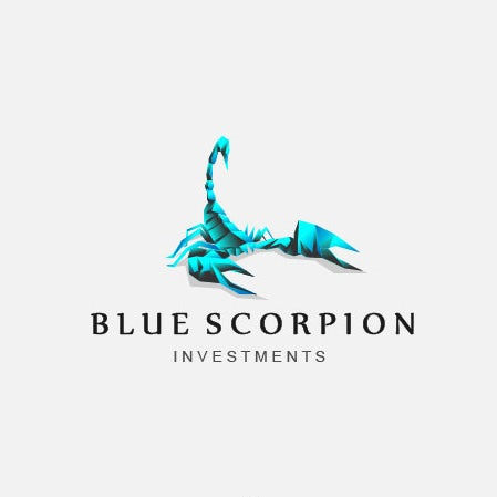 blue scorpion logo