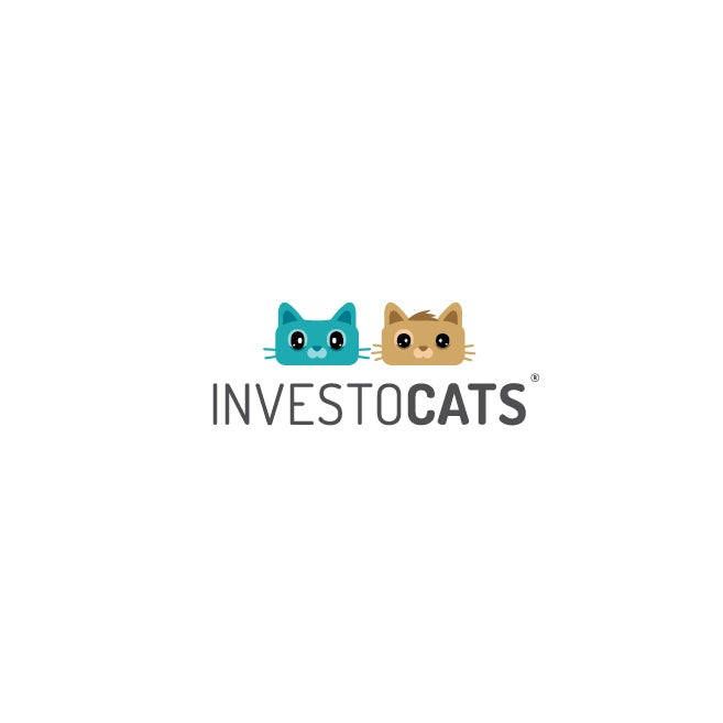 illustrated cats logo design