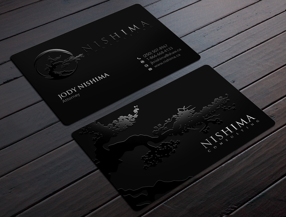 7 business card design tips that will rock your brand 99designs black lawyer business card reheart Gallery