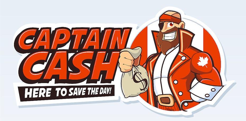 canadian cartoon character logo design