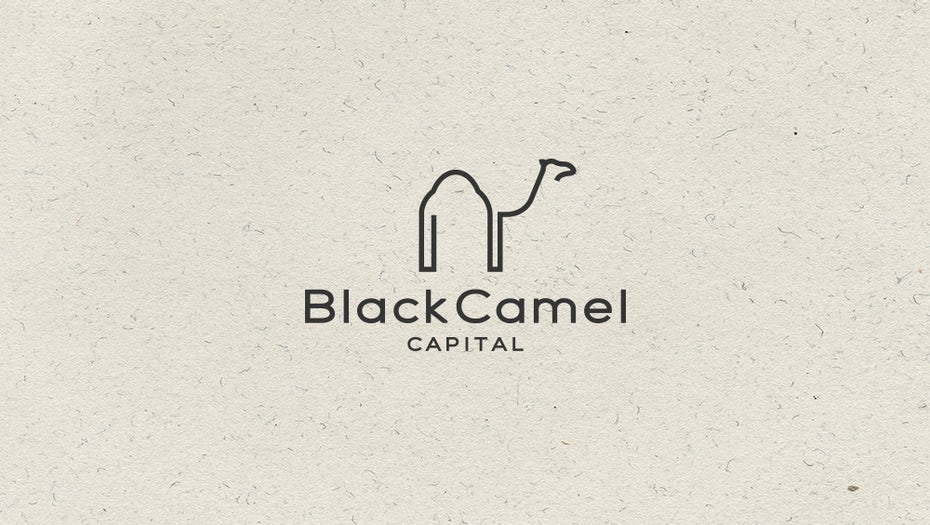 camel logo design