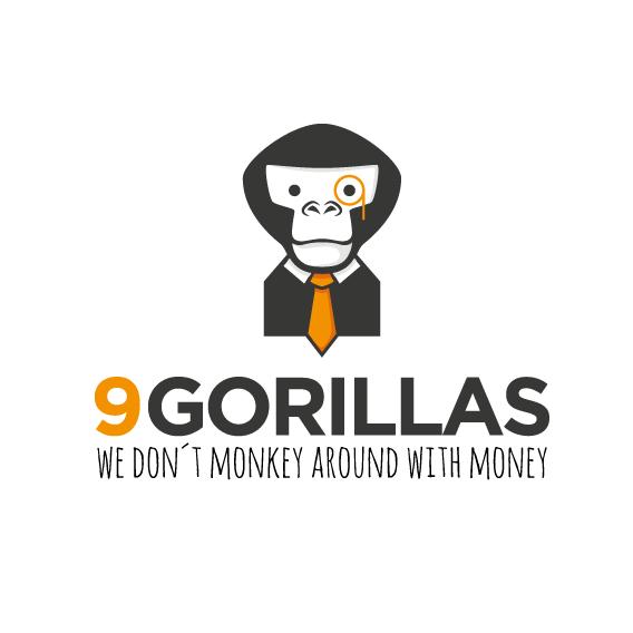 Logo with monkey