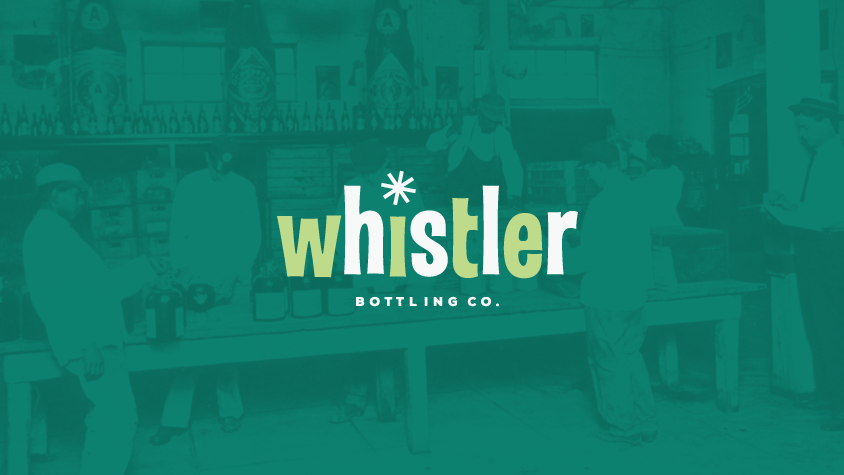 Whistler bottling co logo