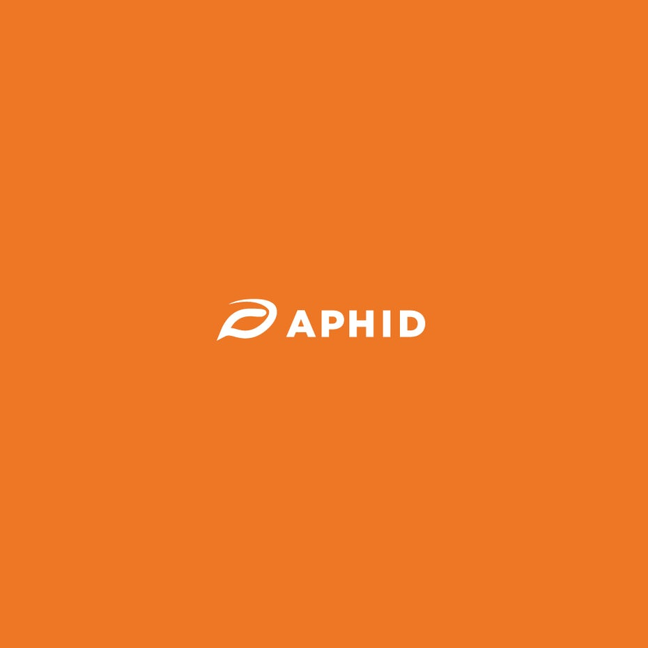 Logo with abstract aphid