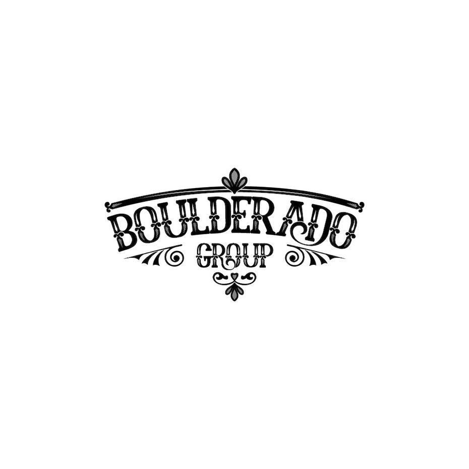 old western logo design