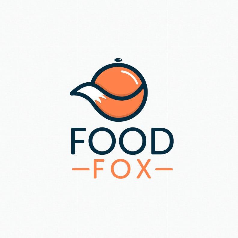 Logo with fox