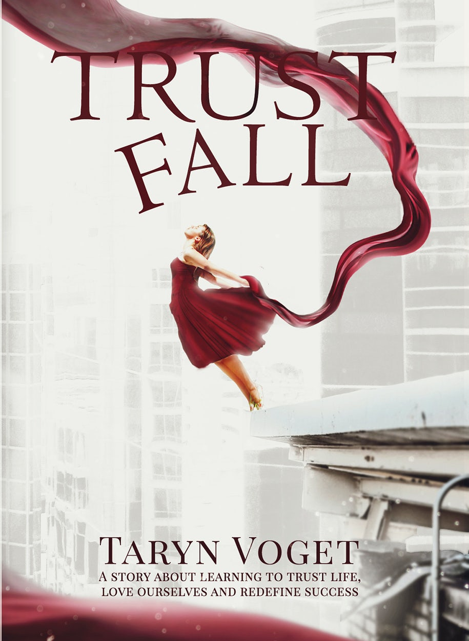 trust fall book cover