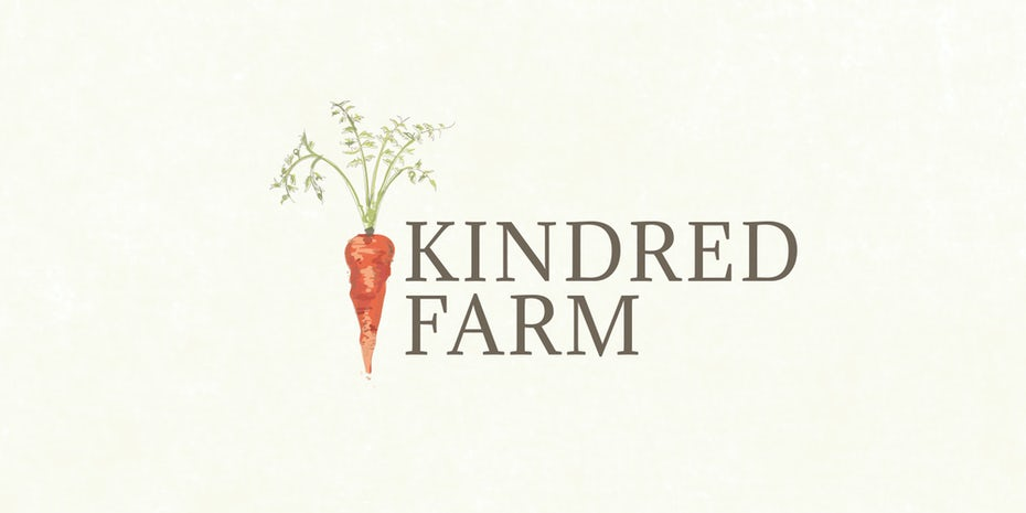 logo with carrot