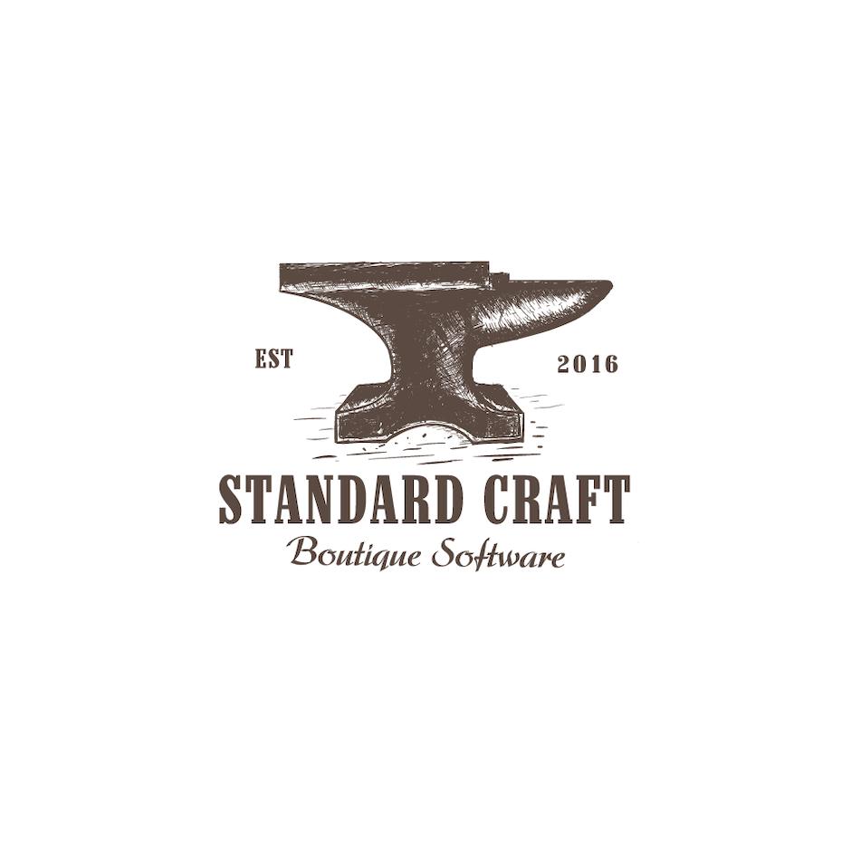 anvil vintage logo design