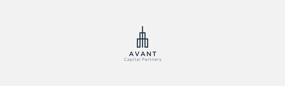 An accounting logo with an architectural theme