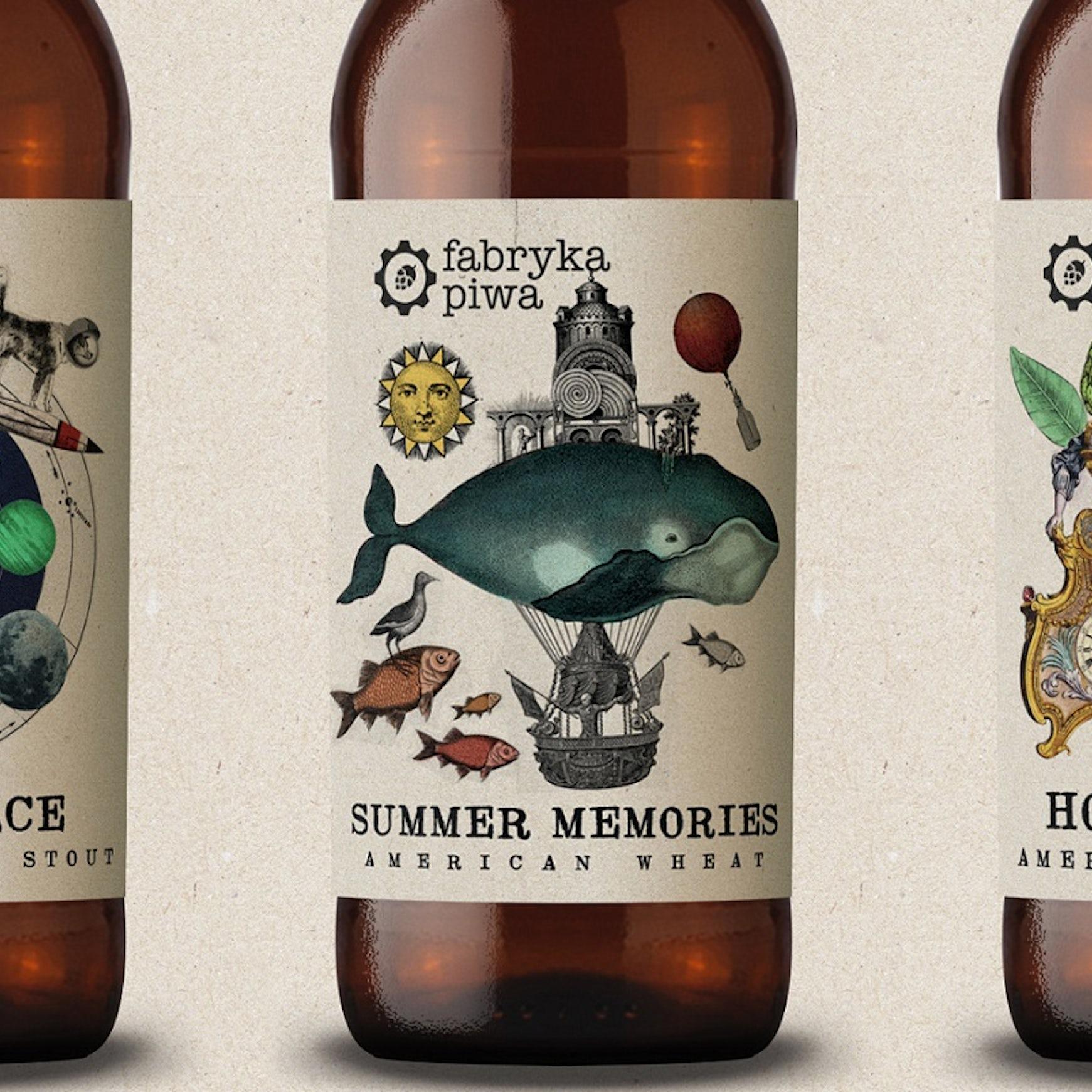 30 Crafty Creative Beer Label Ideas