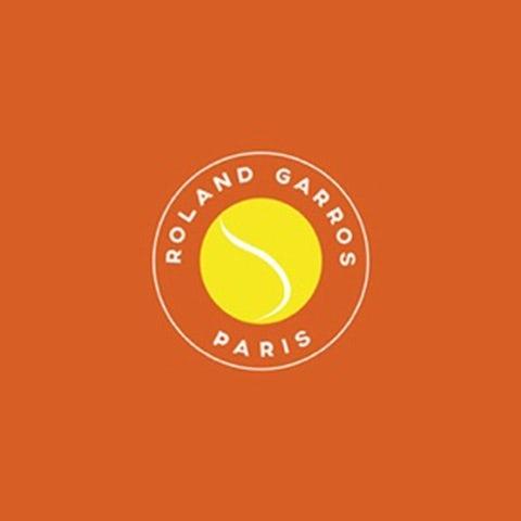 logo with tennis ball