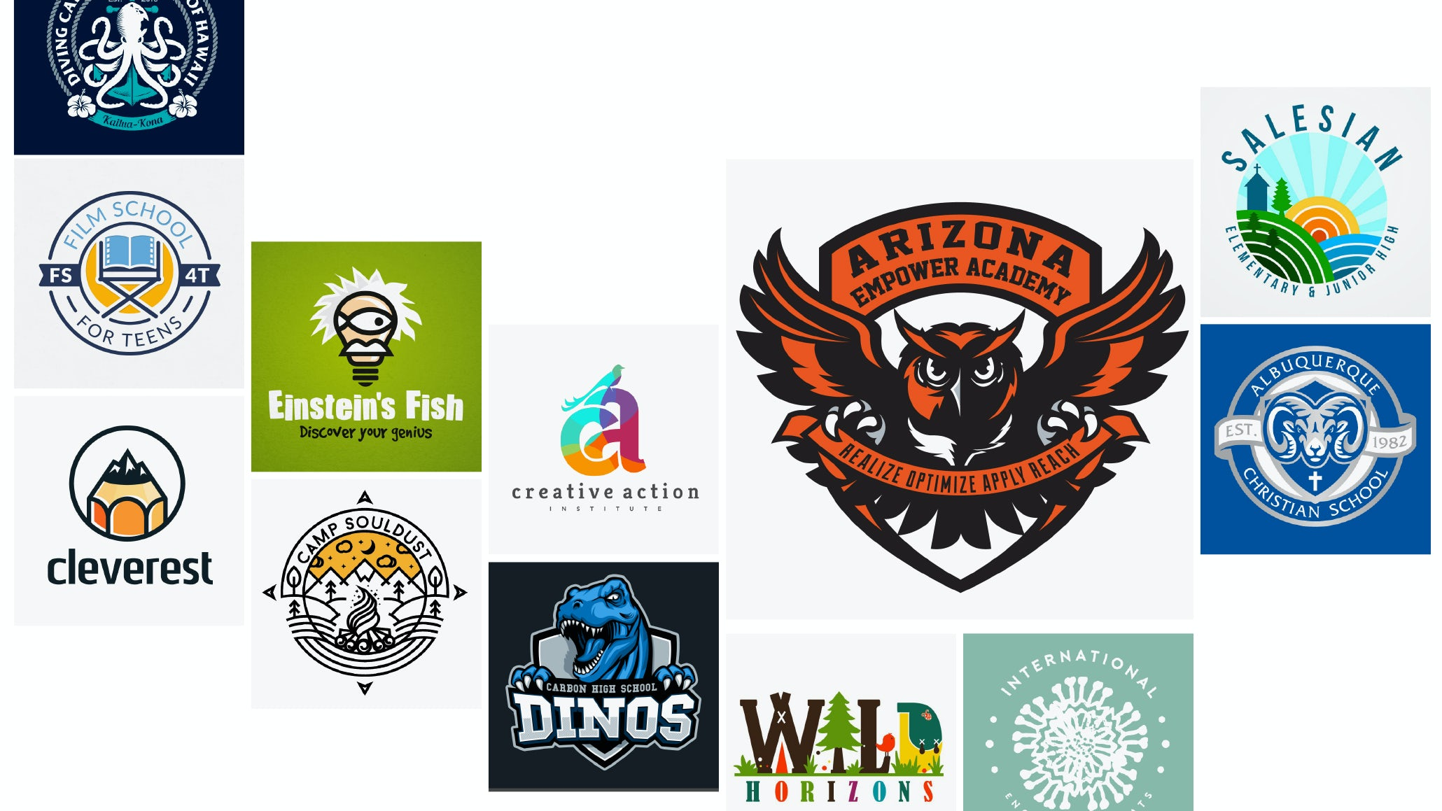 29 education and school logos that get an A+ - 99designs