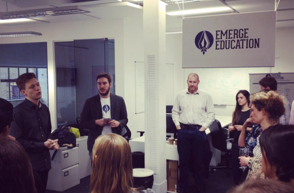Emerge education accelerator