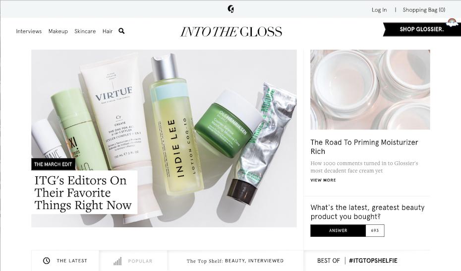Into the Gloss screenshot