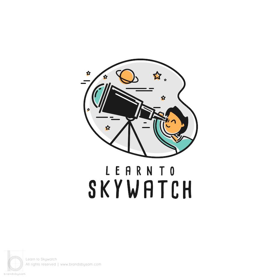 Astronomy logo design